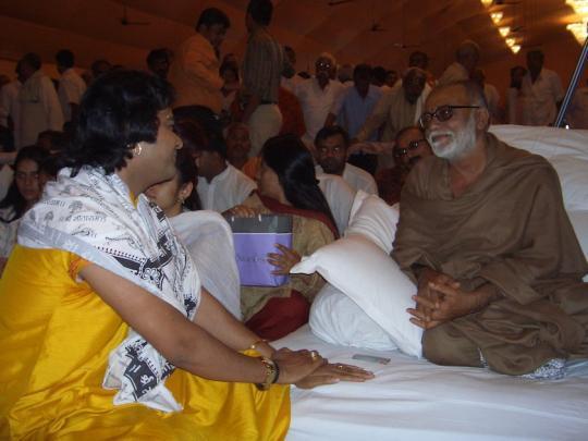 Chinmayanand Bapu Ji Sewa Photo