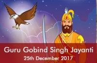 Guru  Gobind Singh ji jayanti